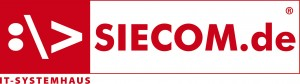 Logo_Siecom weiß_mit Schriftzug
